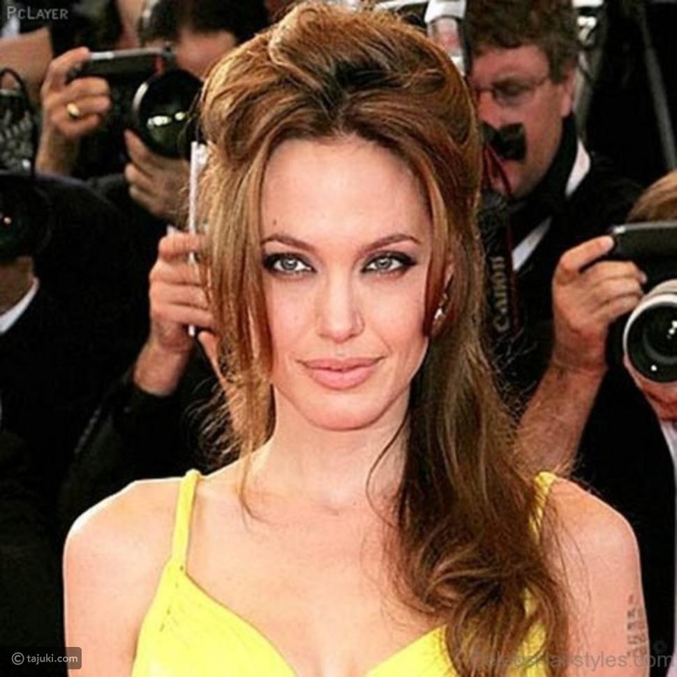 تاجُكِ: تسريحات وقصات وصبغات الممثلة الشهيرة أنجلينا جولي
