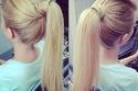 تسريحة شعر مميزة وسهلة التطبيق