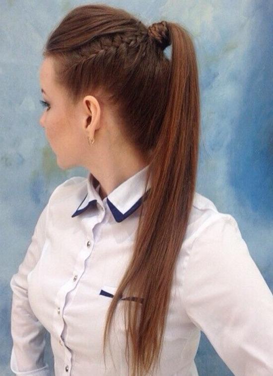 تسريحة شعر مميزة وسهلة