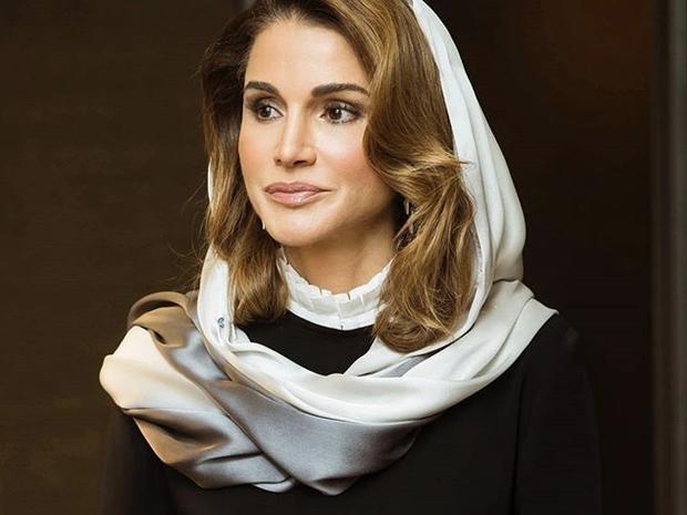 الملكة الملكة رانيا العبدالله. أناقة وإطلالات راقية
