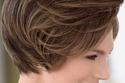 أحدث قصات شعر قصير  للنساء فوق 40 مع شعر بني