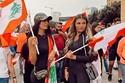 تسريحات جميلات لبنان في التظاهرات 2
