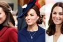 تسريحات الدوقة كيت ميدلتون Kate Middleton - صورة