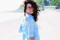 تسريحات الممثلة التركية سمر سهلة وبسيطة