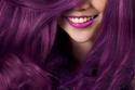 صور لصبغات الشعر الأرجواني 1