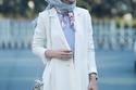 لفات حجاب مناسبة لصاحبات الشعر الطويل 1