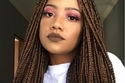 ضفائر الشعر الأفريقية- بني