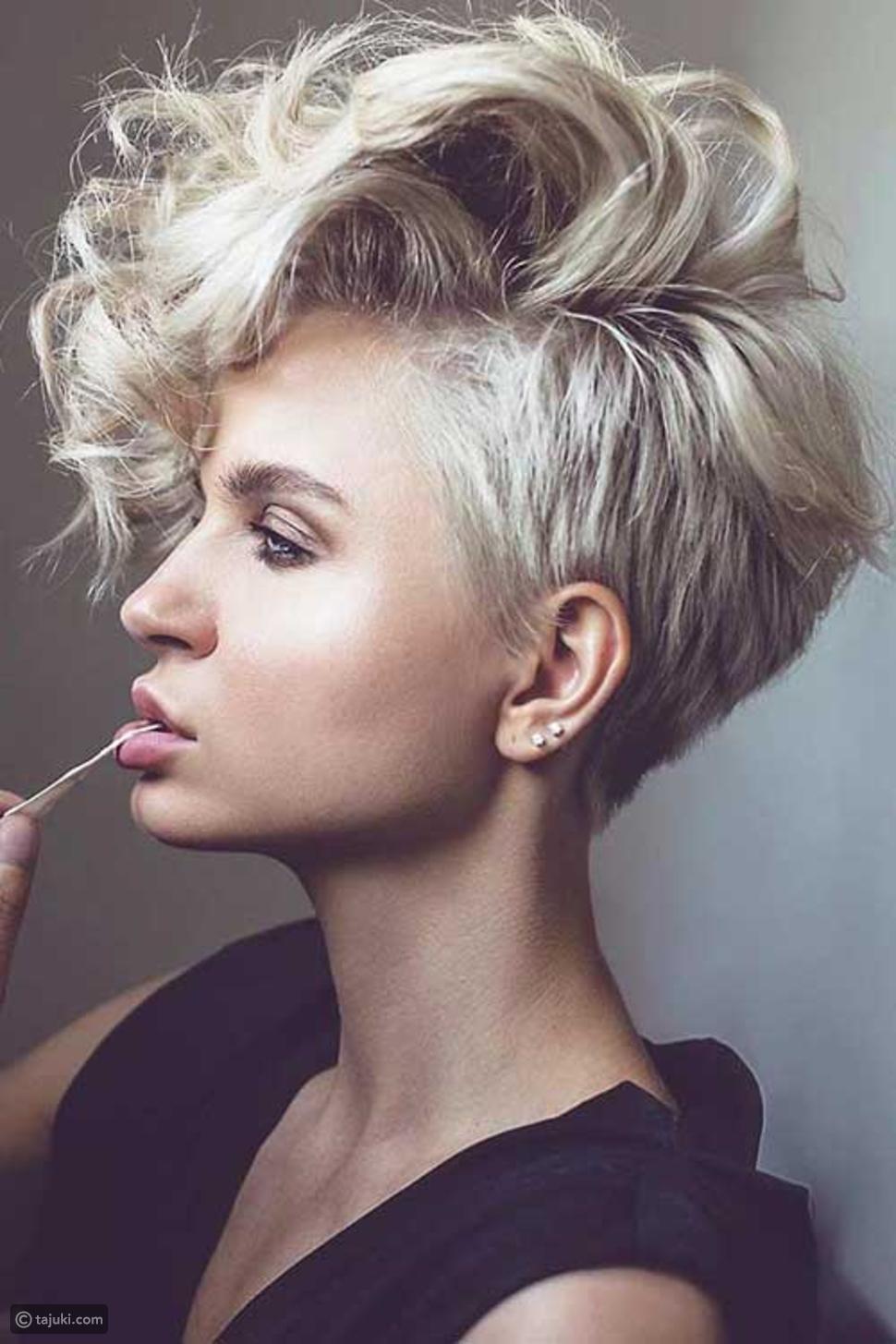 40 أحدث قصات الشعر القصير للنساء صور ليالينا