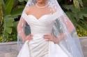 إطلالة هاجر أحمد في زفافها