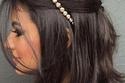تسريحات زواج شعر قصير ناعم