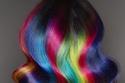 صبغات شعر للهالوين متعددة الألوان