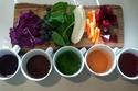 صبغة زيتي طبيعية بألوان الطعام