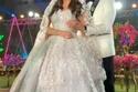 العروس هنادي مهنا وأحمد خالد صلاح