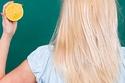 خلطة الليمون لتفتيح الشعر