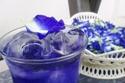 طريقة عمل الشاي الأزرق المثلج