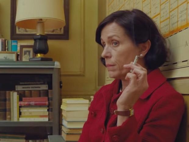 فرانسيس مكدورماند تشارك بفيلم في مهرجان كان بشعر أسود قصير