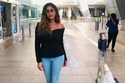 تسريحات شعر ليلى عبد الله الملائمة للسفر