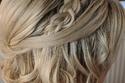 تسريحة زواج شعر قصير