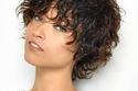 تسريحة الشعر القصير المبلول