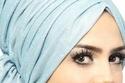 حجاب التربون المرفوع