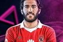 اللاعب مروان محسن بذقن وشنب