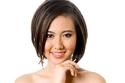 الشعر القصير للمرأة ذات الوجوه المستديرة
