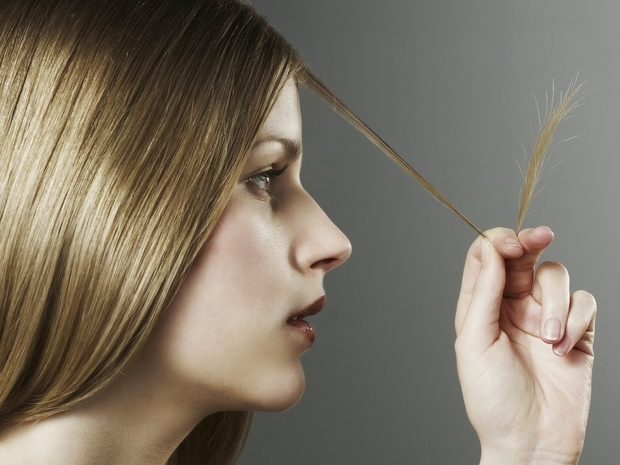 علاج تقصف الشعر بالوصفات الطبيعية