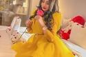 تسريحات شعر جديدة من سارة الكندري بإطلالة باللون الأصفر