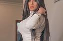 تسريحات شعر جديدة من سارة الكندري- شعر طويل