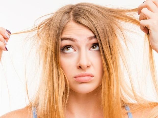 علاج الشعر التالف بالوصفات الطبيعية