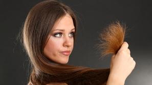 تقصف الشعر وعلاجه طبيعياً