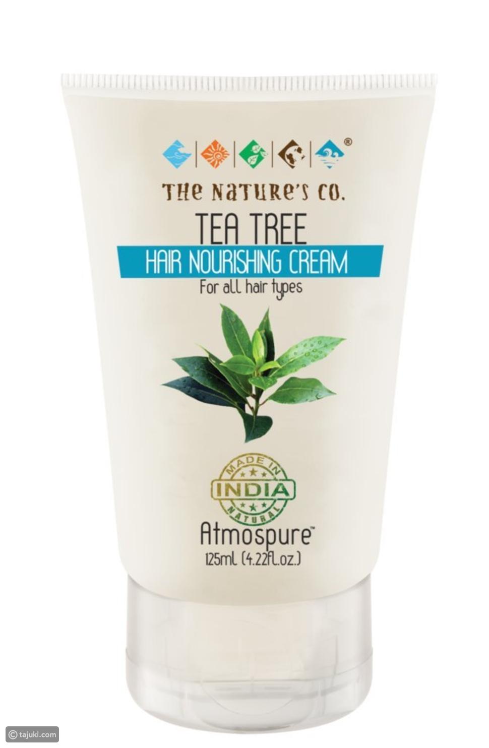 كريم الشعر المغذي بخلاصة شجرة الشاي من ذا ناتشور (The Nature's Co Tea Tree Hair Nourishing Cream):