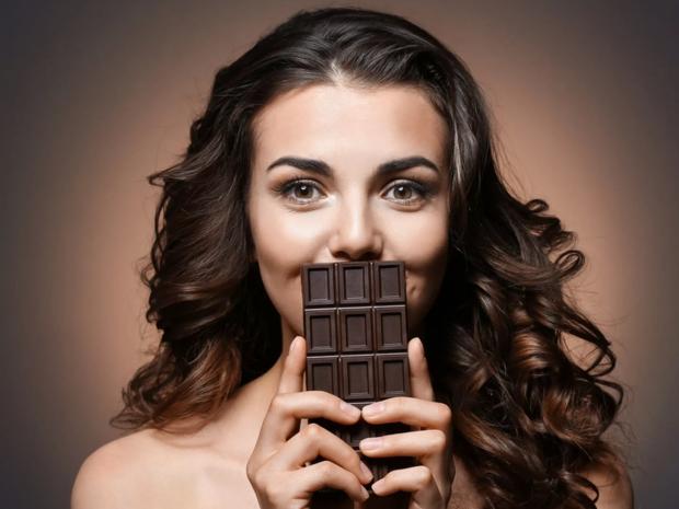الشوكولاتة الداكنة لعلاج تساقط الشعر
