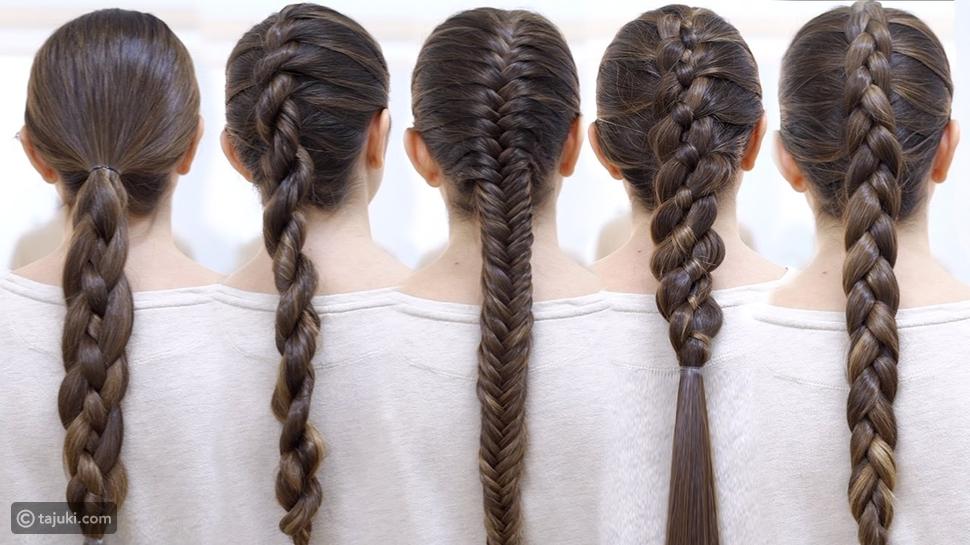 طريقة عمل ضفائر الشعر